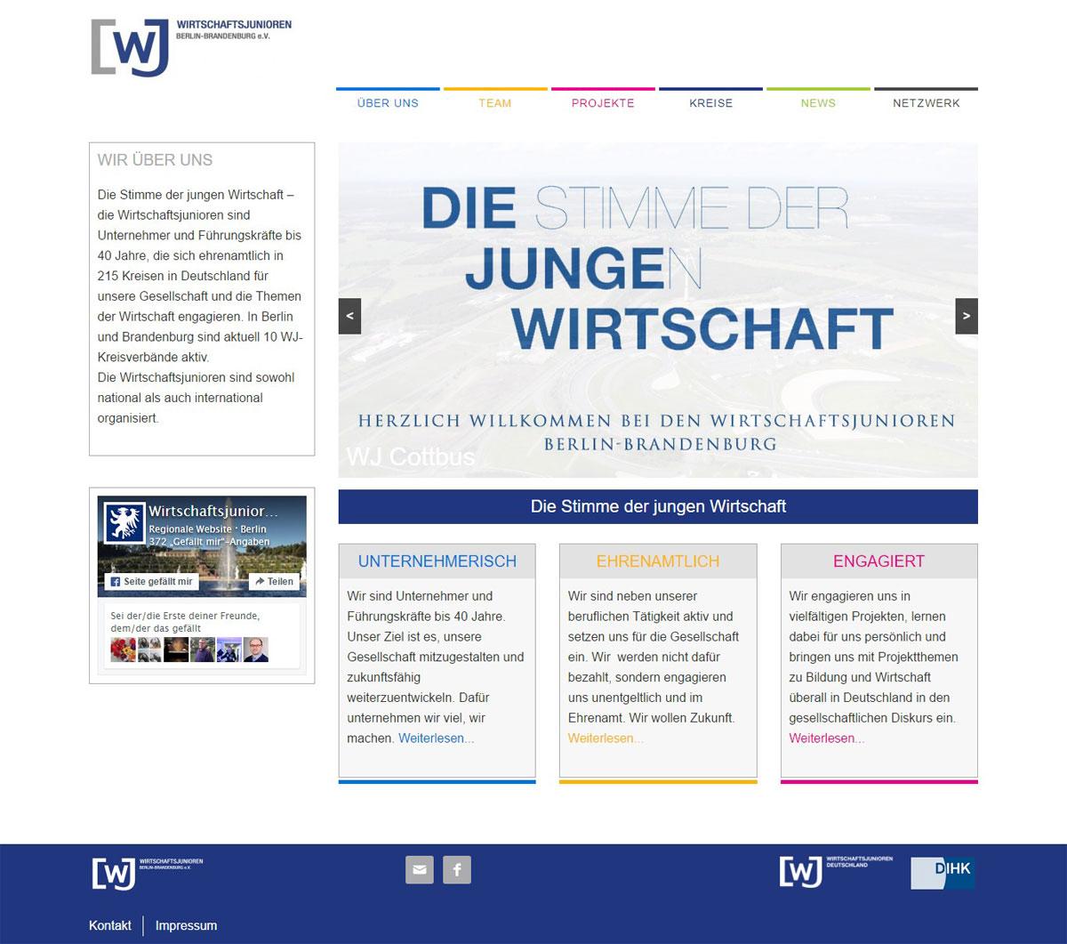 XMouse Referenz Wirtschaftsjunioren Berlin Brandenburg eV