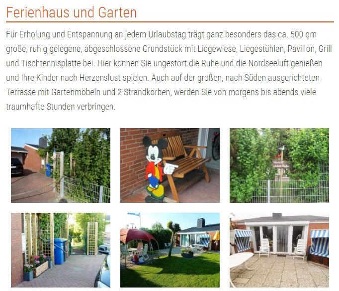 Ferienhaus Kolks Huus Neuharlingersiel Inhalte Referenz XMouse