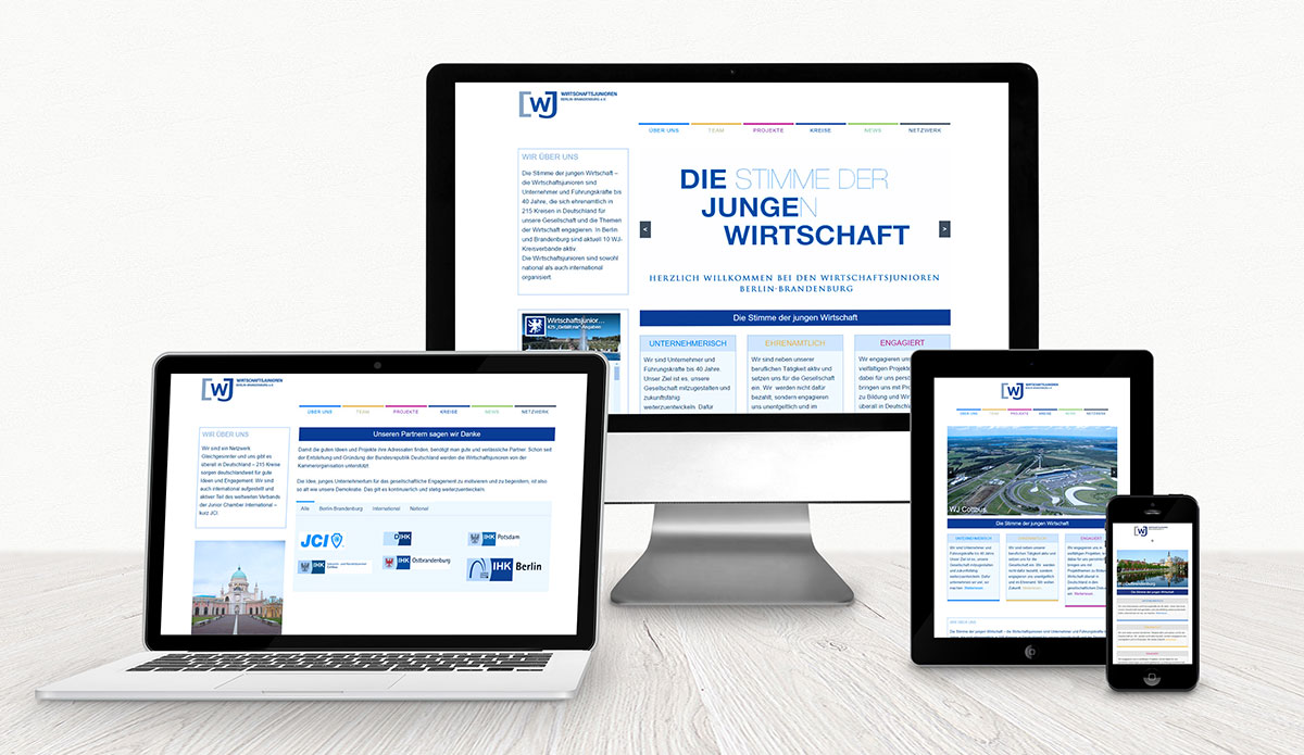 Wirtschaftsjunioren Berlin Brandenburg WordPress Referenz XMouse