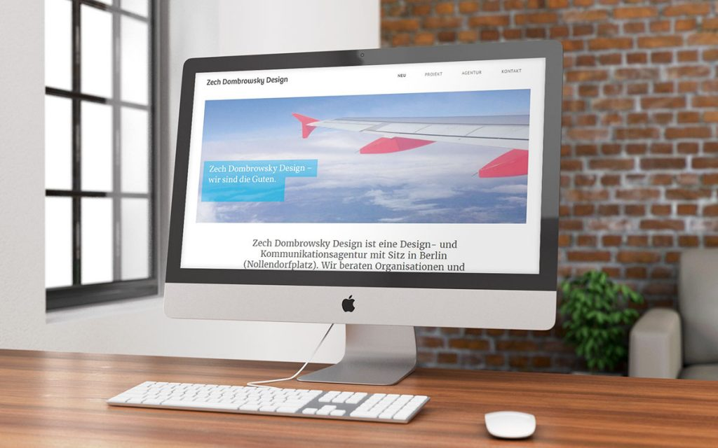 Agentur Zech Dombrowsky Website Referenz XMouse