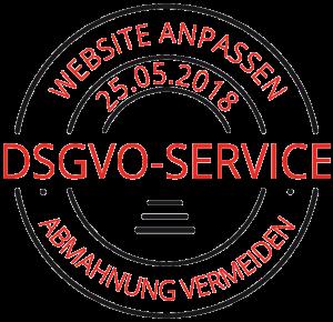 DSGVO Anpassung Badge